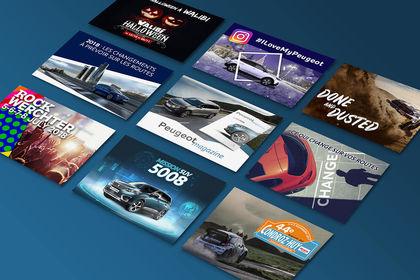 Peugeot Ads Banner.