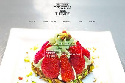 Le Quai des Dunes - Site Web