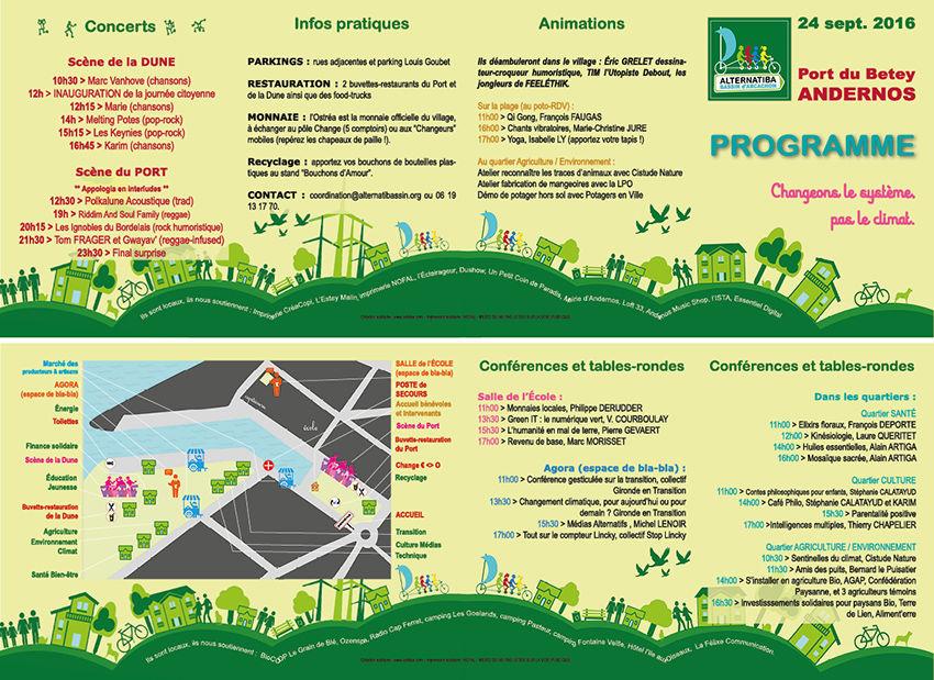 Programme Alternatiba Bassin d'Arcachon