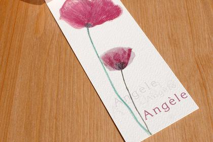Faire-part pour la naissance d'Angèle