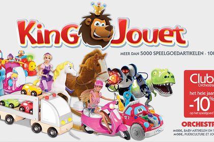 Sticker vitrine Groupe King Jouet