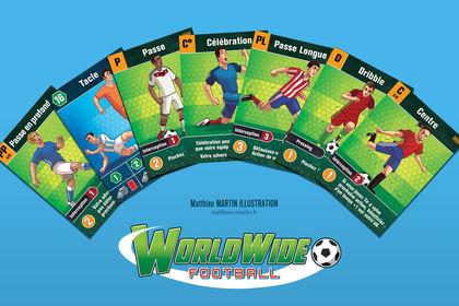 Jeu de société worldwide football