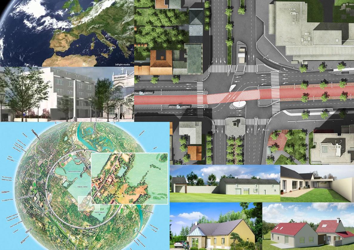 Illustrations architecture