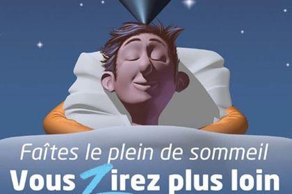 Affiche pour salon sur le sommeil