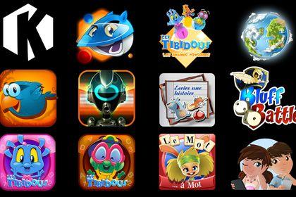 Icônes pour applis mobiles
