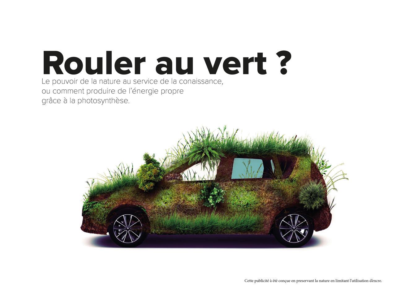 Affiche publicitaire, innovation