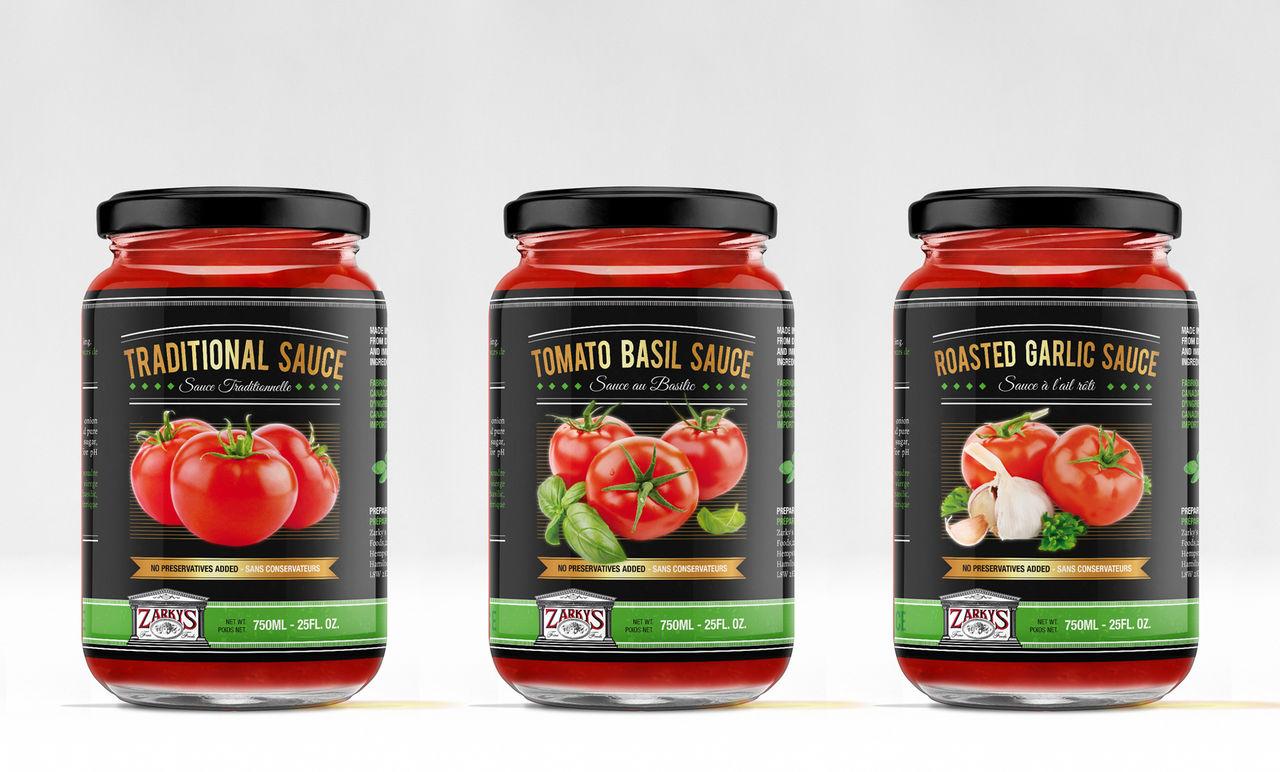 ZArky's tomato sauce