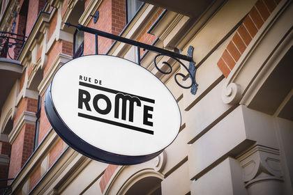 Rue de Rome - Logo
