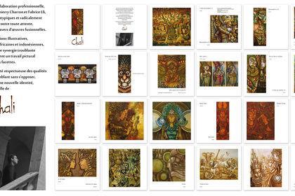Catalogue des artistes CHALI