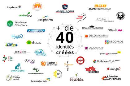 Création Logos et identités visuelles