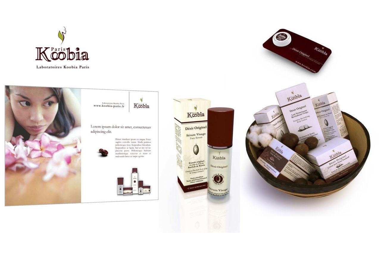 Gamme produits cosmétiques