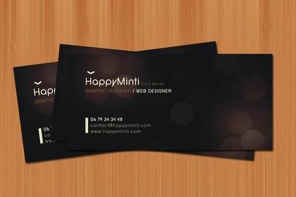 Carte de visite - Happyminti - 2009