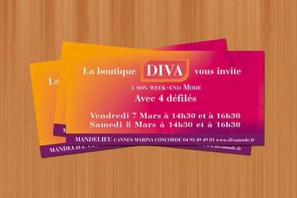 Flyer - Boutique Diva - 2009