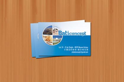 Carte de visite - Baticoncept - 2009