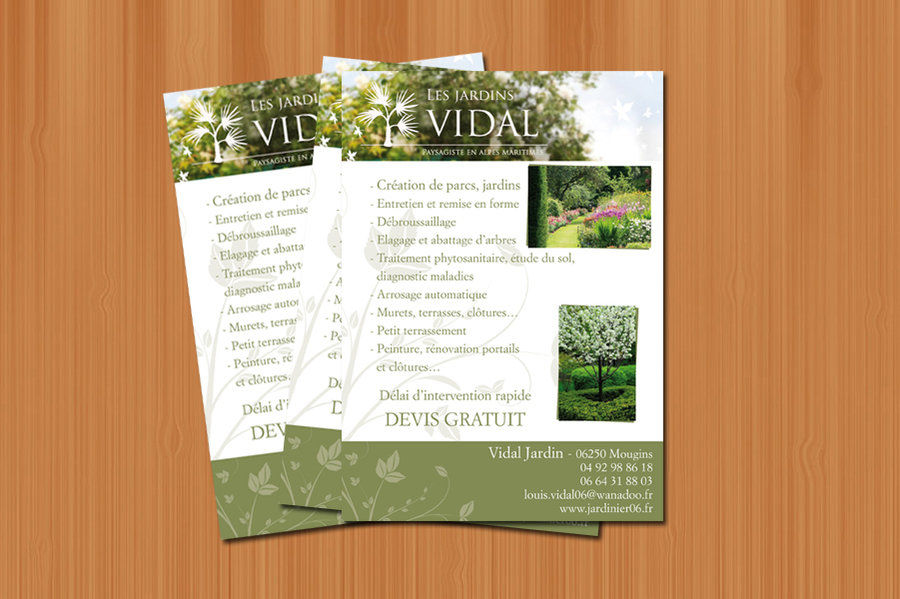 Flyer - Jardin Vidal - 2009
