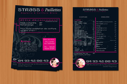 Flyer - Strass & Paillettes - 2009
