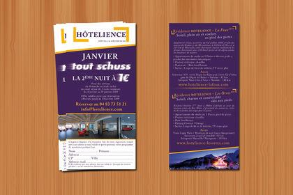 Flyer - Hôtelience - 2009