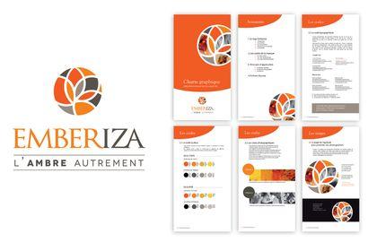 Logo et charte graphique Emberiza