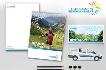 Charte graphique Haute-garonne Environnement