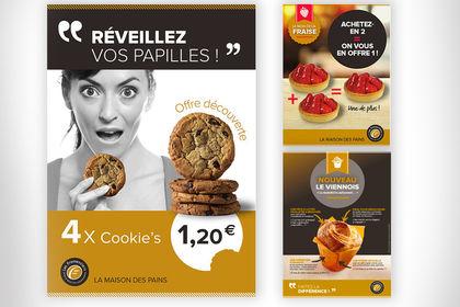 PLV, affiches, kakémonos Les Fromentiers de France