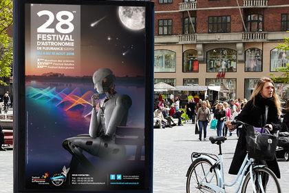 Affiche festival d'astronomie de Fleurante 2018