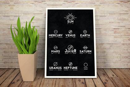 Solar System - Graphic design - 2015