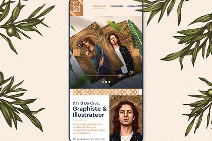 David Da Cruz . Web design
