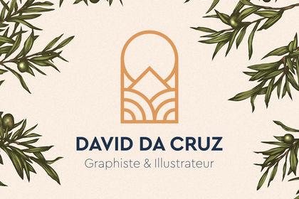 David Da Cruz . Logo design
