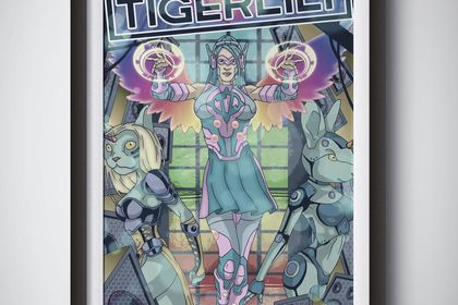 Illustration Tigerlily