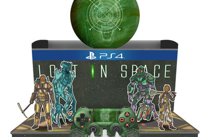 Boitier support manette lost in space