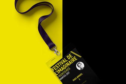 Badge festival imaginaire