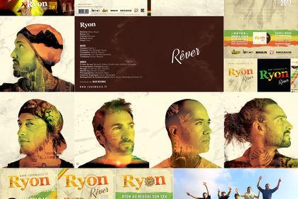 Créations graphiques pour Ryon