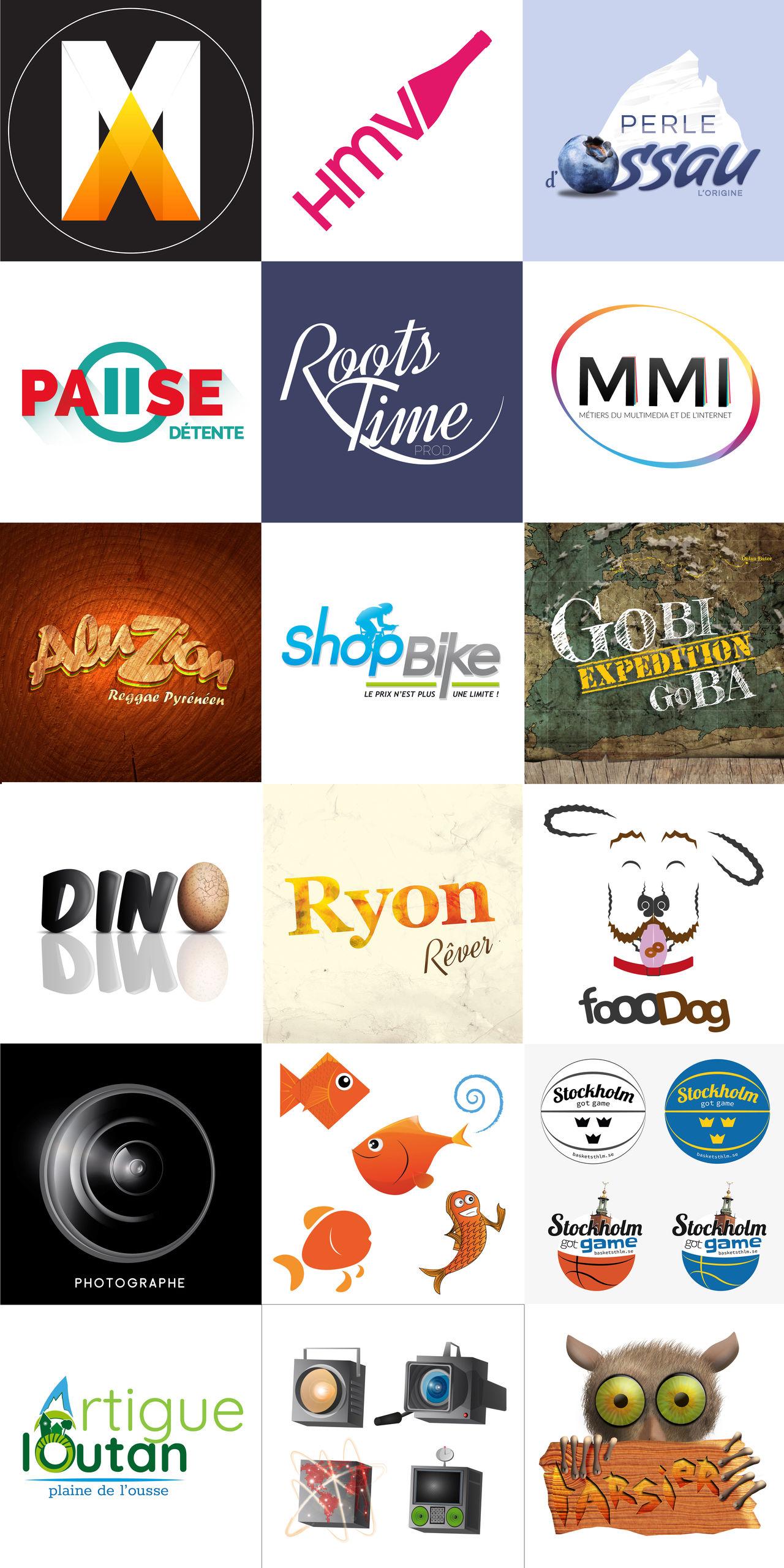Logo sous Illustrator et Photoshop