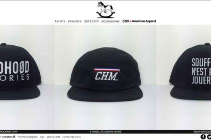 Design et développement du site CHM