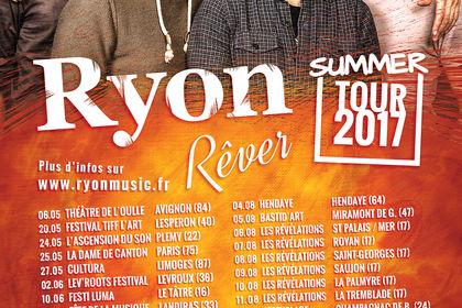 Affiche Ryon Summer Tour