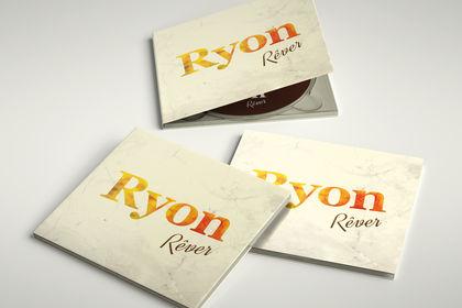 Mock-up digipack Ryon Rêver