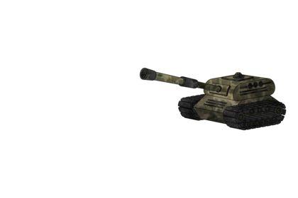 Tank animé