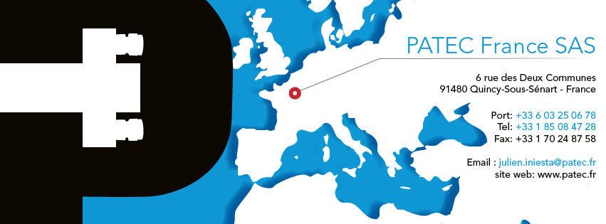 Bannière pour les réseaux sociaux PATEC FRANCE