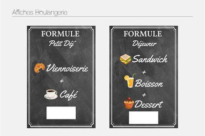Affiche Boulangerie