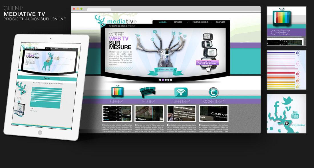 Site de MEDIATIVE TV