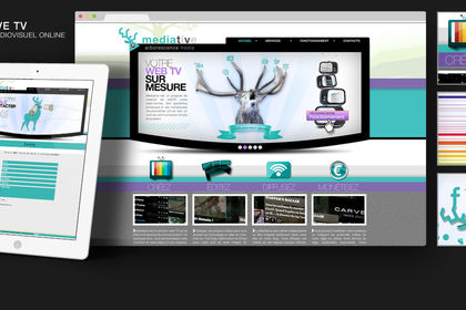 Site de MEDIATIVE TV
