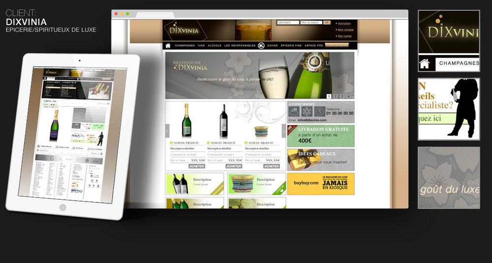 Dixvinia (site commerçant)