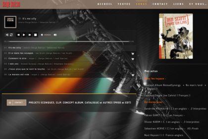 Site web auteur-parolier Serge Balcon