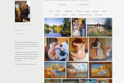 Site web artiste peintre A. Fulleringer
