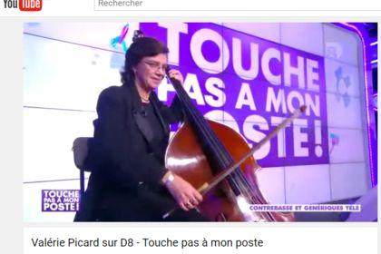 Valérie Picard sur la chaîne D8
