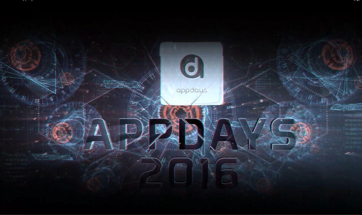 Teaser Conférence AppDays 2016