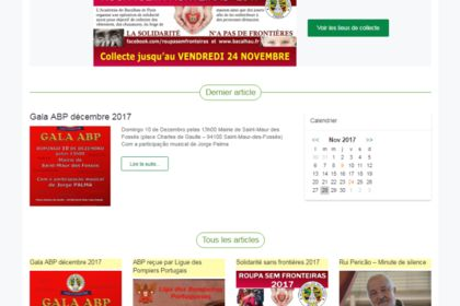 Site web multilingue FR-PT
