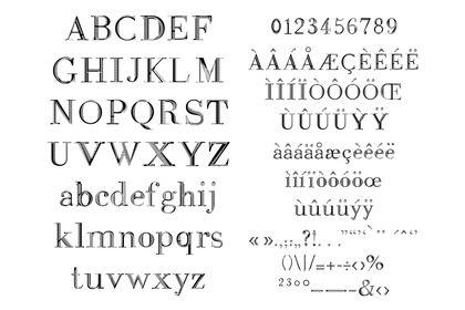 Dibotra - création typographique