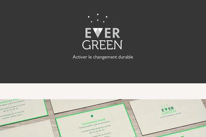 Identité visuelle d'Evergreen