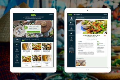 Eatrip : app de voyages culinaires